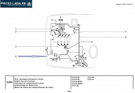 Faisceau avant moteur E5