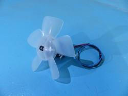 Moteur + hélice ventilateur...